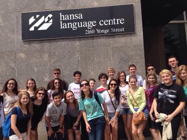 Hansa Language Centreトロント1