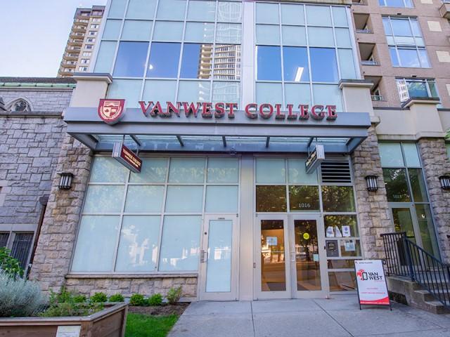Vanwest Collegeバンクーバー校1
