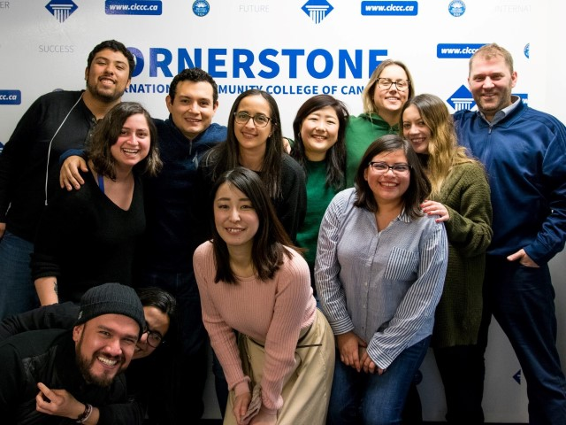 CICCC : Cornerstone International Community College of Canada - CRS Students