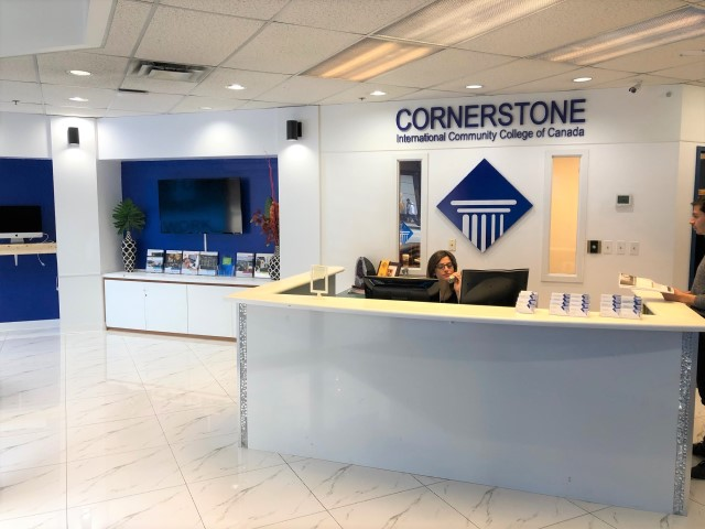 CICCC : Cornerstone International Community College of Canada Front Desk